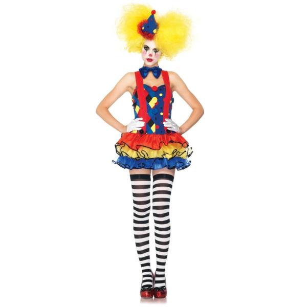 damenkostüme karneval clown