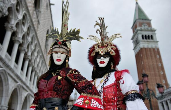 damenkostüme karneval fasching venedig