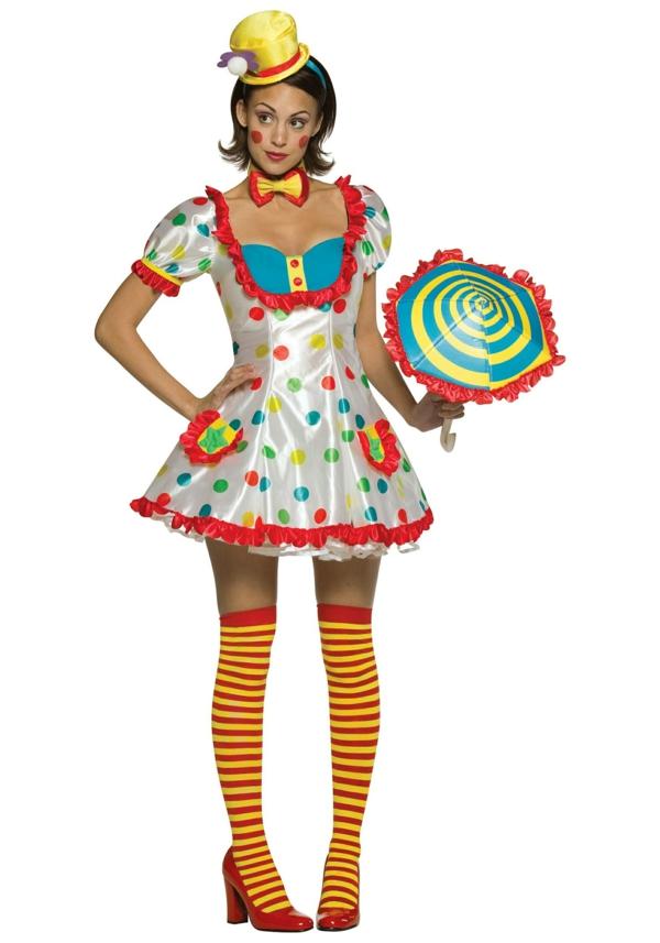 damenkostüme karneval faschingskostüme clown