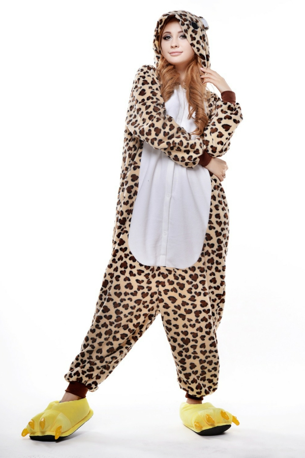 damenkostüme karneval faschingskostüme leopard