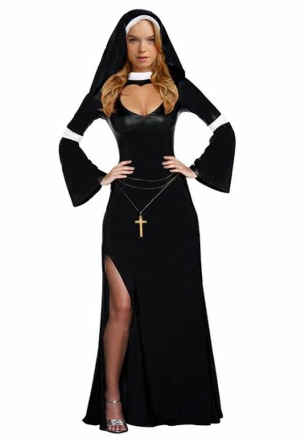 damenkostüme karneval faschingsmkostüme nonne