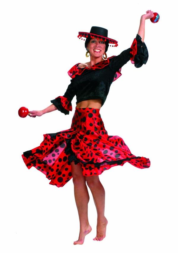damenkostüme karneval spanisch