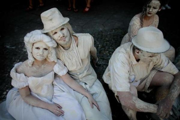 damenkostüme karneval weiße kostüme