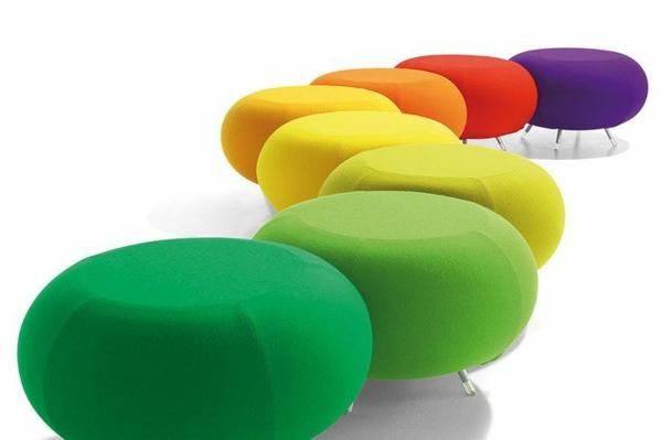 design möbel online günstig kaufen hocker rund