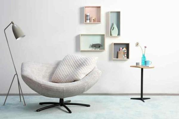 design möbel online günstig kaufen sessel stehlampe