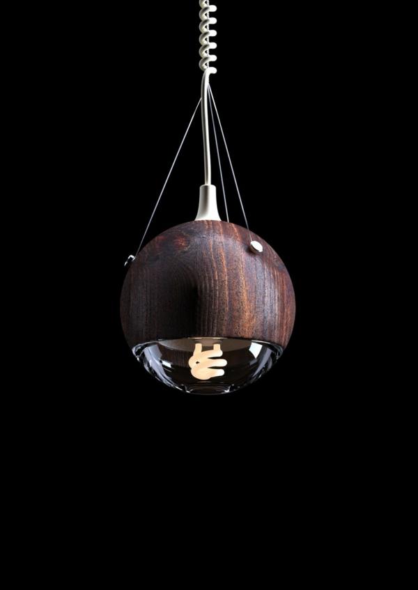 designer lampen Wrecking Ball kugel pendelleuchte andrew mitchell