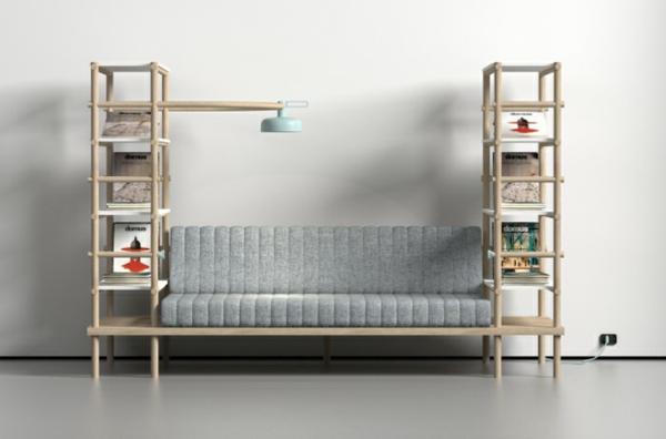 designer möbel Burak Kocak wohnzimmer mehrfunktional