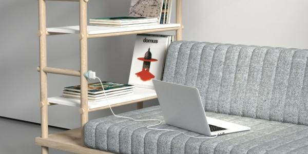 designer möbel Burak Kocak wohnzimmer sofa laptop
