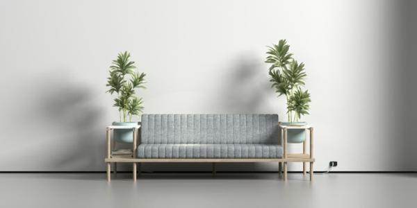 designer möbel Burak Kocak wohnzimmer sofa zimmerpflanzen