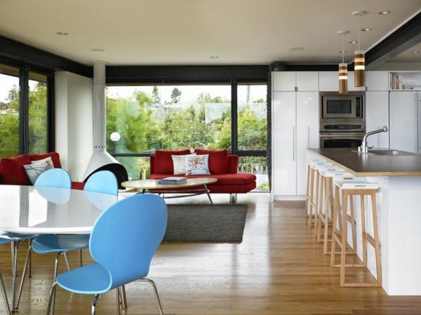 designklassiker möbel online blau stühle