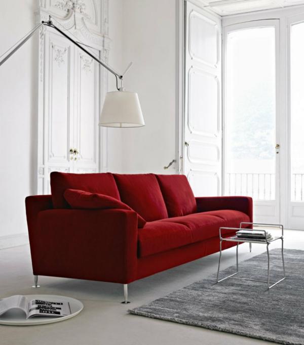 designklassiker möbel online rot sofa