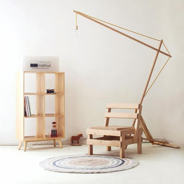dialoguemethod MUNITO designer möbel stehlampe holzmöbel