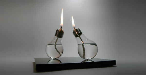 diy projekte alte glühbirnen bastelideen kerzen