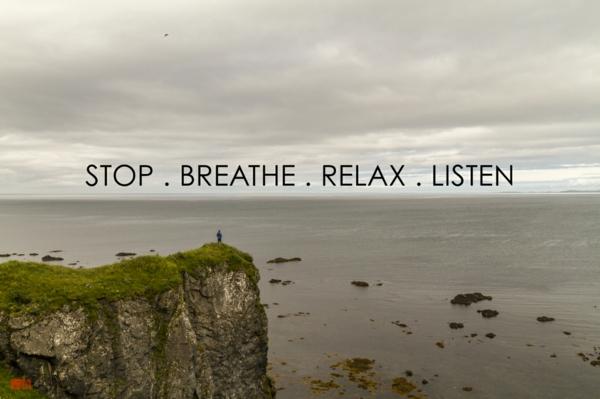 entspannungstechniken jeden moment genießen atmen