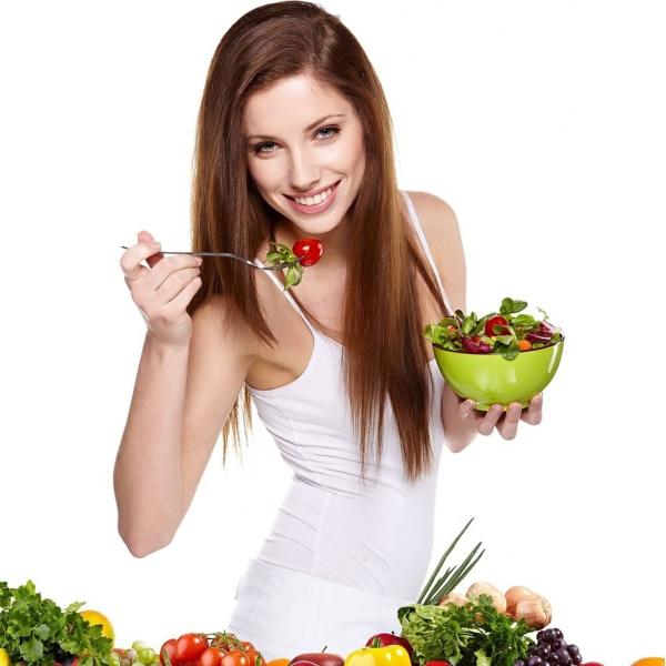 ernährungsplan abnehmen gemüse salate