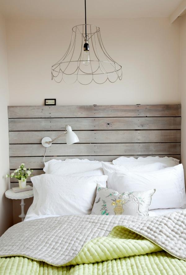Europalette Als Kopfteil U2013 22 Nachhaltige DIY Betten Ideen | DIY   Do It  Yourself | 1/22