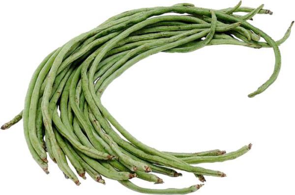 exotische früchte chinesiche spargelbohnen