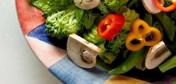 fastenkur gemüsesalat pilze brokkoli