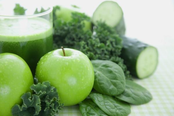fastenkur salat äpfel gurke