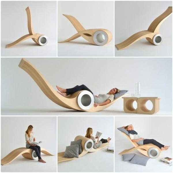 designer stuhl lounge möbel Stéphane Leathead