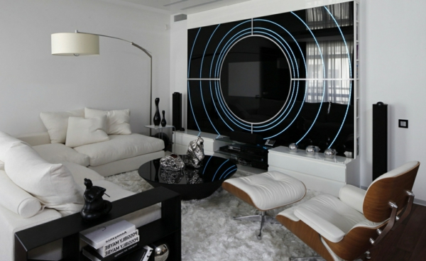 futurismus kunst minimalismus und hi tech im innendesign. Black Bedroom Furniture Sets. Home Design Ideas