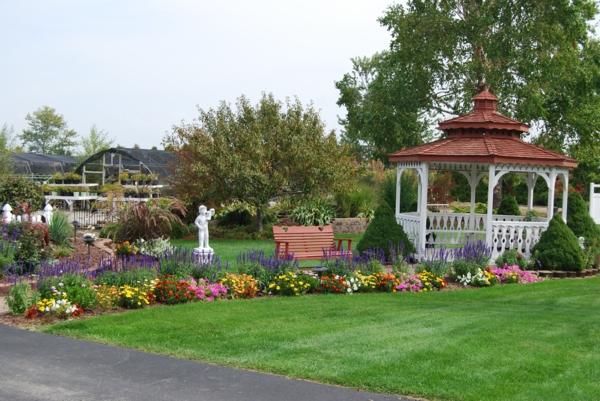 Gartengestaltung Beispiele - praktische Tipps und frische Ideen