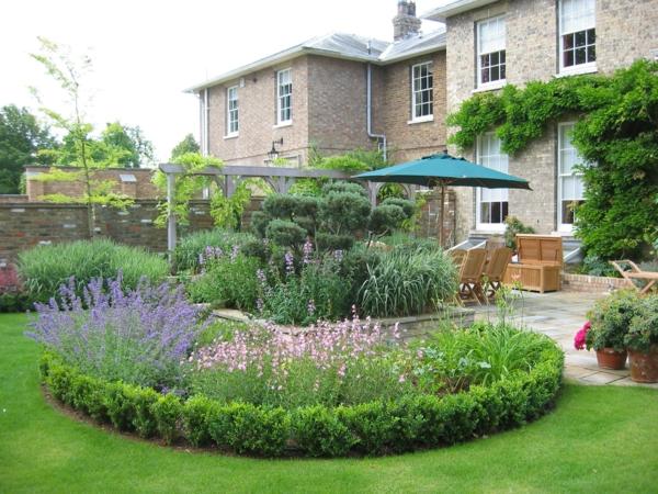 Gartengestaltung beispiele praktische tipps und frische for Gartengestaltung rund