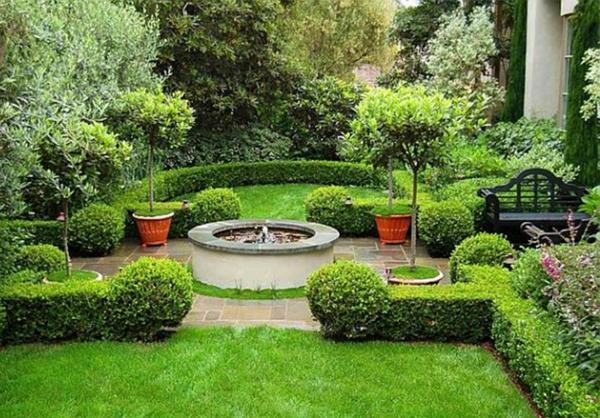 Gartengestaltung beispiele praktische tipps und frische for Gartengestaltung springbrunnen