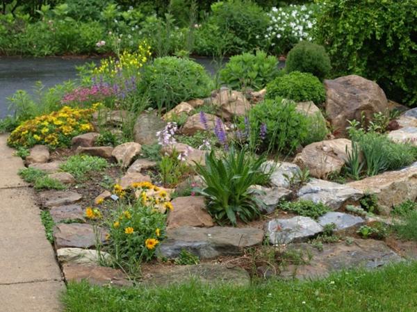 Gartengestaltung Beispiele Bilder ~ Gartengestaltung Beispiele – praktische Tipps und frische Ideen
