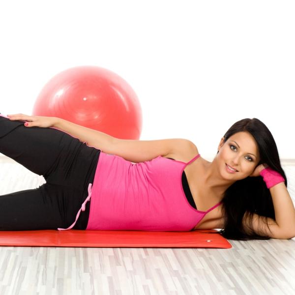 gesünder abnehmen gymnastik übungen sport