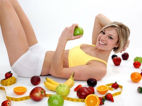 gesünder abnehmen gymnastik früchte