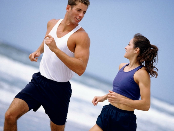 gesünder abnehmen jogging