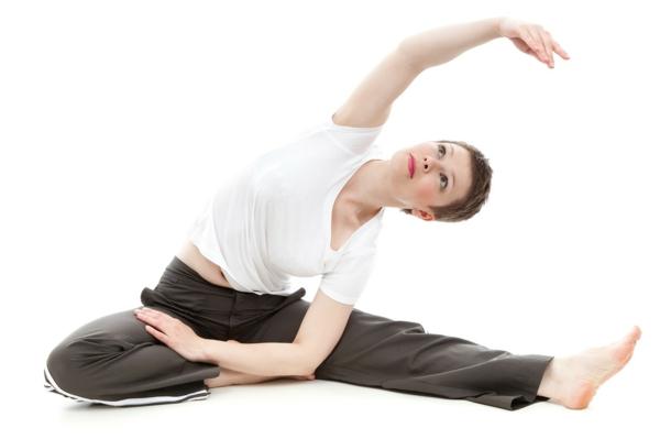 gesünder abnehmen yoga übungen