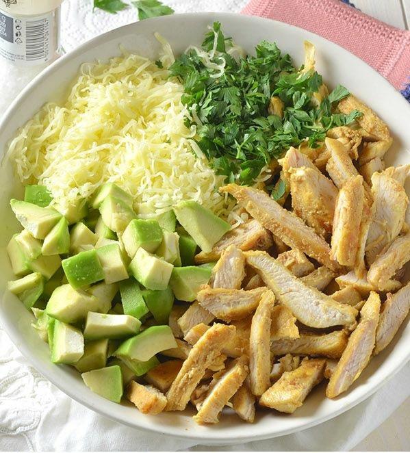 schnelles gesundes mittagessen frisch gemüse salate