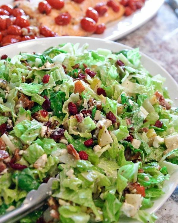 schnelles gesundes mittagessen schnell rezepte grün gemüse salate
