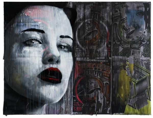 kunst graffiti melbourne australien retro art