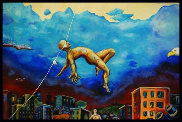 graffiti kunst san francisco usa surrealismus