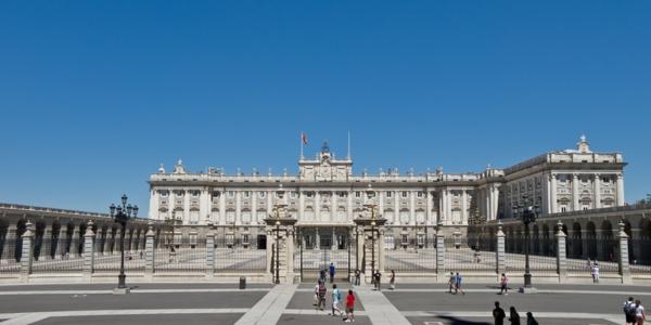 hauptstädte europa urlaub in madrid palast