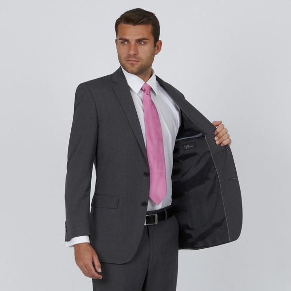 hochzeitsanzug herren krawatte farbakzent rosa anzüge bräutigam