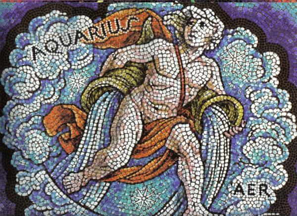 horoskop wassermann mosaik sternzeichen