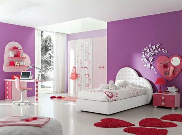 Moderne Luxus Jugendzimmer Mädchen ~ JugendzimmermöbelUnterschiedliche Vorlieben,verschiedene Ausstattung