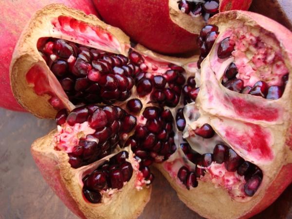 kalorienarmes essen granatapfel frucht