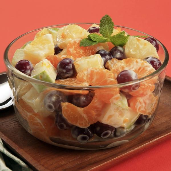 kalorienarm essen zitrusfrüchte salad