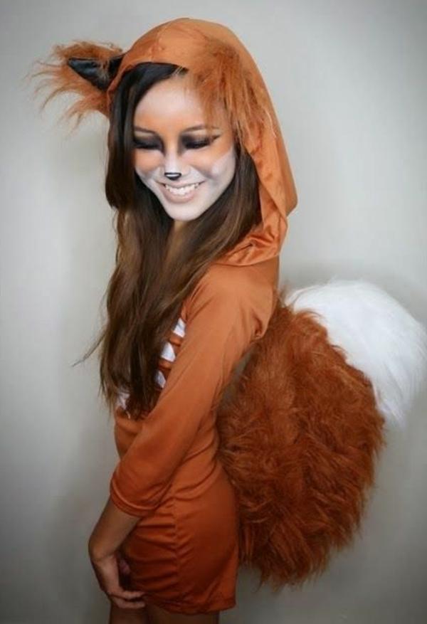 karneval kostüm selber machen eichhörnchen