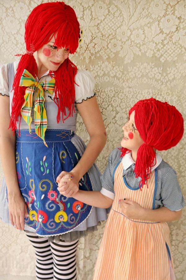 karneval kostüm selber machen pippi langstrumpf