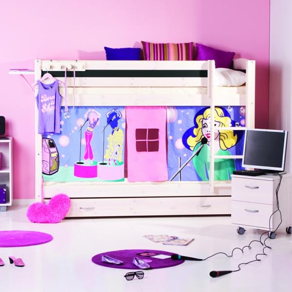 kinderbett f r m dchen sch n funktinal oder modern soll es sein. Black Bedroom Furniture Sets. Home Design Ideas