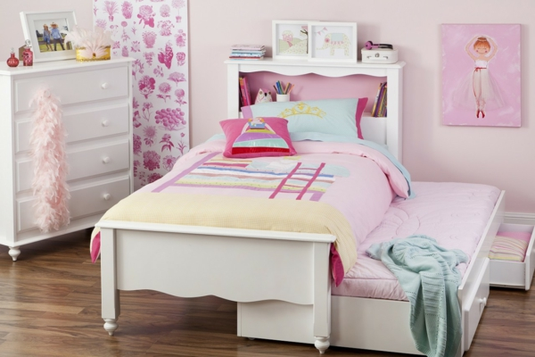 kinderbett f r m dchen sch n funktional oder modern soll es pictures to pin on pinterest. Black Bedroom Furniture Sets. Home Design Ideas