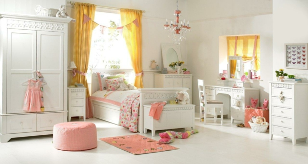 m dchen kinderzimmer 33 zeitgen ssische zauberhafte innendesigns f r m dchen. Black Bedroom Furniture Sets. Home Design Ideas