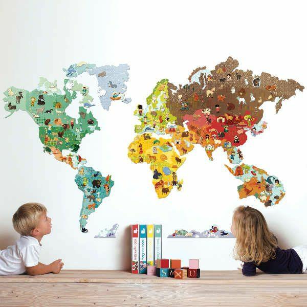 Wandsticker Kinderzimmer Farbe Und Freude An Der Kinderzimmerwand