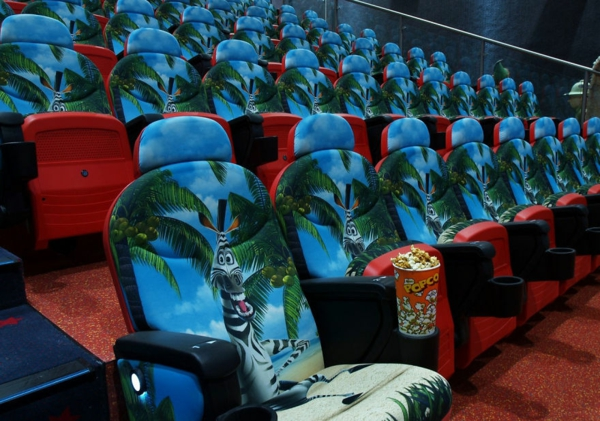 kinos weltweit modern kunst klappbar zebra